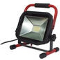 Flat LED construction lamp, 38 W, 3000 Lumen