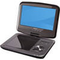 Portable 9 DVD Player with DVB-T2 tuner and headrest mount DENVER ®