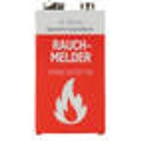 Lithium 9V block battery for smoke detectors Ansmann