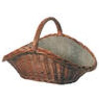 Wicker basket, light brown