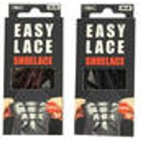 Silicone laces for loafers, black