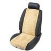 Lamb s Wool Seat Cover, Beige Walser