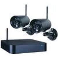 WDVR720S Wireless Surveillance System, 4-channel with 2 external cameras Smartwares ®