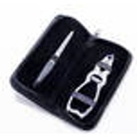 Double sided nail clipper with nail file in a practical case Tifall