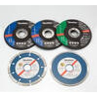 7 Piece Cutting-Off Wheel 115 mm 4x metal, 2 x stone, 1 x tile Westfalia