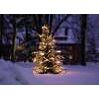 Wireless Christmas Tree candle set, 15 pieces with remote control, indoor / outdoor