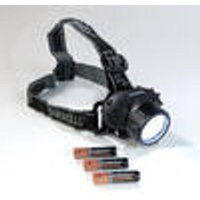Headlamp with 19 LEDs, Splashproof with 4 Light Modes Duracell