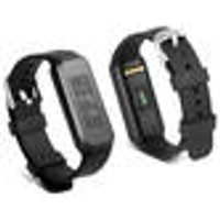Fitness wristband with touch display for monitoring pulse, fitness, sleep and active phases Technaxx
