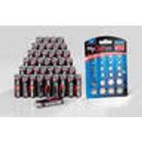 Alkaline Battery Saver Set, 40 Mignon (AA) + 20 alkaline and lithium button cells Ansmann