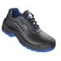 S3 Safety Shoes, for work and leisure, black / blue, size 6 Wica
