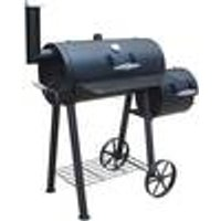 Edmonton Charcoal Smoker Grill, 22 x 34 cm Cooking Area Fire Beam