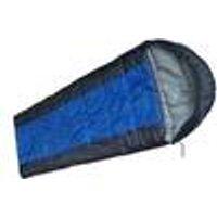 RIGI Sleeping Bag, Blue / Grey, 190 x 40 x 75 cm