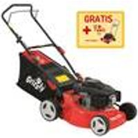 BRM 4210-20 Petrol Lawn Mower, 4-Stroke 99 cc Engine, 50 Litre Grass Box Grizzly