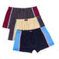 Retro Pants in a Pack of 3, Assorted Colours, Size 34