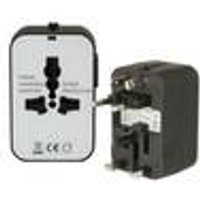 Universal Travel Adapter Plug with 2 USB Ports Arcas