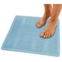 Anti-Slip Bath Mat 52x52 cm, blue