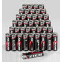 Micro (AAA) Alkaline Batteries (Pack of 40) + 6 Button Cells