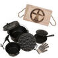 Dutch Oven Fire Pot Starter Set with FREE Transport Box The Windmill