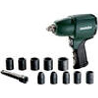 DSSW 360 Pneumatic Impact Wrench Set, 1/2 Drive Metabo