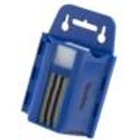 Trapezoid blades, 100 pack, in a practical holder for individual removal
