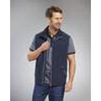 Outdoor Vest, 75 cm Back Length, Red, Size M Coastguard