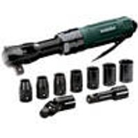DRS 68 Pneumatic Ratchet Wrench Set, 1/2 Drive Metabo
