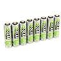 Solar NiMH Micro (AAA) Batteries, 500 mAh, 8-Pieces Ansmann