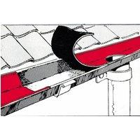 Image of Dach Reparaturband 100 mm, 10 m lang, Bleifarben, selbstklebend