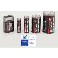 Image of Alkaline 9V Block Batterie - 1 Stück