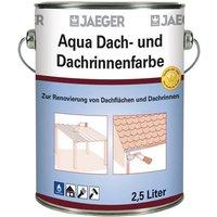 Image of Aqua Dach- und Dachrinnenfarbe, anthrazit, 2,5 l