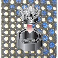 Image of Einsatzbürsten für Gummi Ringmatte, 10er Satz, Farbe blau