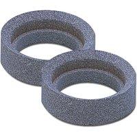 Image of Ersatzschleifsteine 2 Stück zu Spiralbohrerschärfgerät
