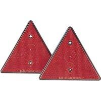 Image of Dreieck Rückstrahler 2er Set für alle Arten von Anhängern / Zubehör