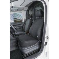 Passform Sitzbezüge für VW Caddy für Einzelsitz vorne aus Stoff ab Baujahr 02/2004 bis heute