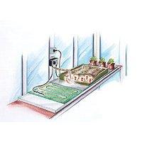 Image of Heizmatte inkl. Thermostat, 85 Watt, 40 x 120 cm