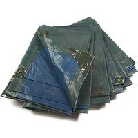 Image of Abdeckplane, grün/blau, extrem stark 150 g/ m²,10 x 15 m