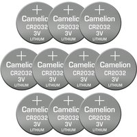 Image of 10er Pack CR2032 Lithium Knopfbatterie
