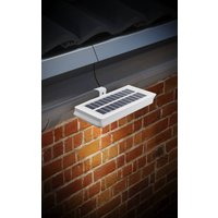 Image of Solar LED Dachrinnenleuchten – 2 Stück