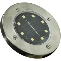 Image of Solar Edelstahl Bodenstrahler - 2er Set