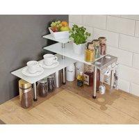 Image of Glas-Eckregal Kaffee-Bar