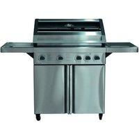 Image of Barbecue a gas con fornello laterale e 4 bruciatori