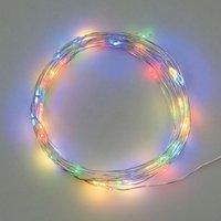 Catena Luminosa 10 Lampadine Led 90 Cm