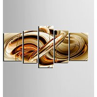 Canvas Set AbstractFive Panels Horizontal Print Wall Decor For Home Decoration