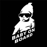 15 x 9 CM/ Cool Baby on Board Car Sticker Motorcycle Sticker