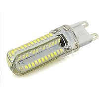 3.5 G9 LED Bi-pin Lights 104 leds SMD 3014 300-350lm Warm White Cold White AC 220-240