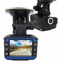 2 in 1 radar detector car dvr 720p dash cam G-sensor car camera recorder video registrator anti-radar detector tachograph