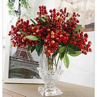 1 Branch Multicolor Acacia Beans Plants Tabletop Flower Artificial Flowers