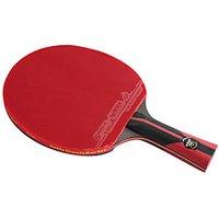 6 Stars Ping Pang/Table Tennis Rackets Ping Pang Carbon Fiber Long Handle Pimples 1 Racket 1 Table Tennis Bag
