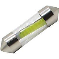 10x 31MM Durable COB LED C5W Car Interior Glass Lens Festoon Dome Reading Light
