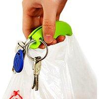 2 Silicone Bag Carrier Handle Hang Handbag Basket Shopping Bag Holder Comfortable Grip Protect Hand